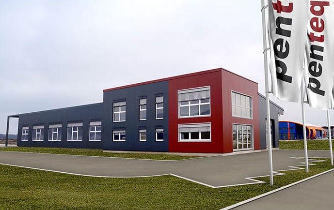 Ansicht der Produktionsstätte