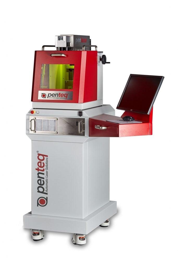 DeskTop-Lasersystem LG50, zur Beschriftung von Werkstücken aus unterschiedlichen Materialen.