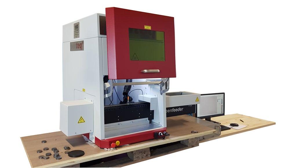 Förderband zur automatischen Teilemanipulation