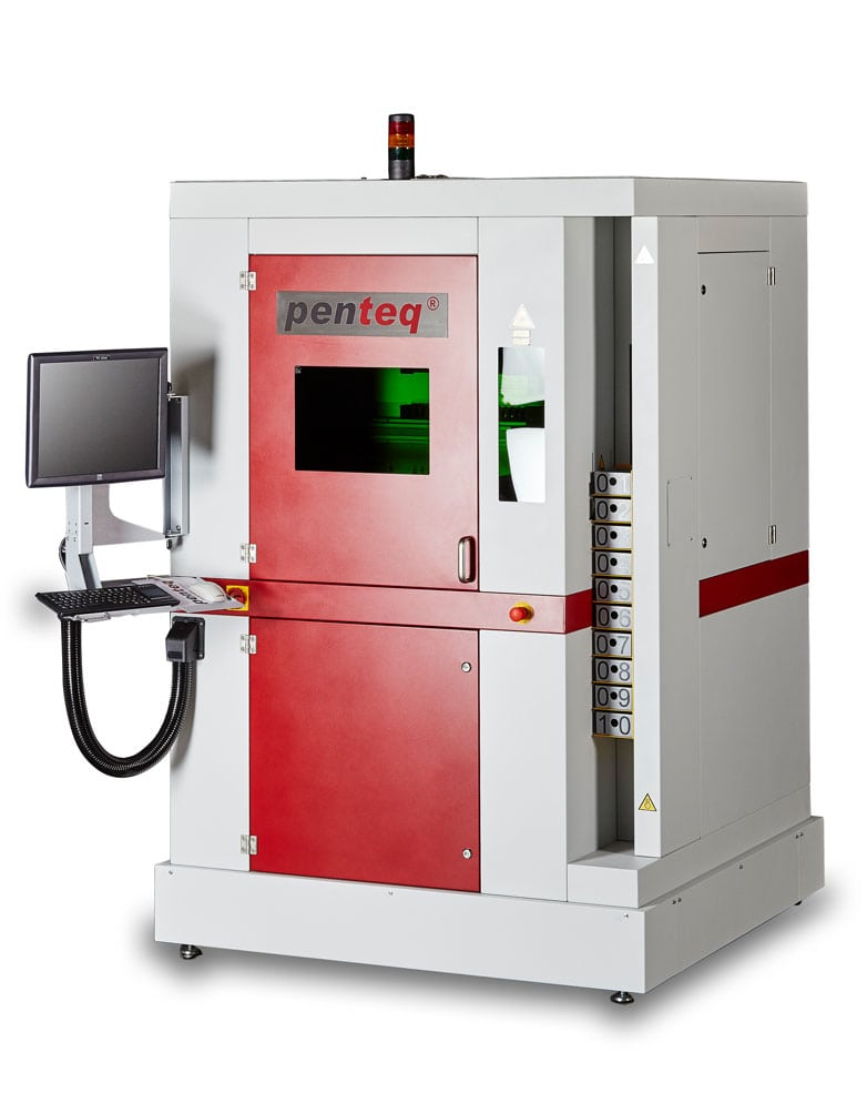 Laser Engraver L PL SB10 Class 1 Due To Closed Housing