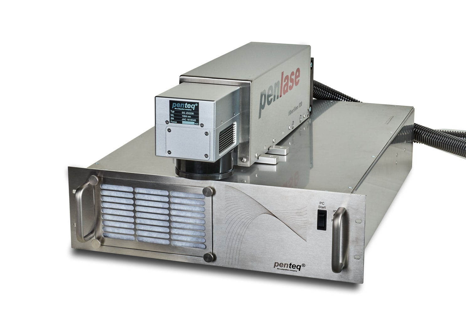 Lasermarkierer Faberline - für einfache Integration in Anlagen und Fertigungslinien.
