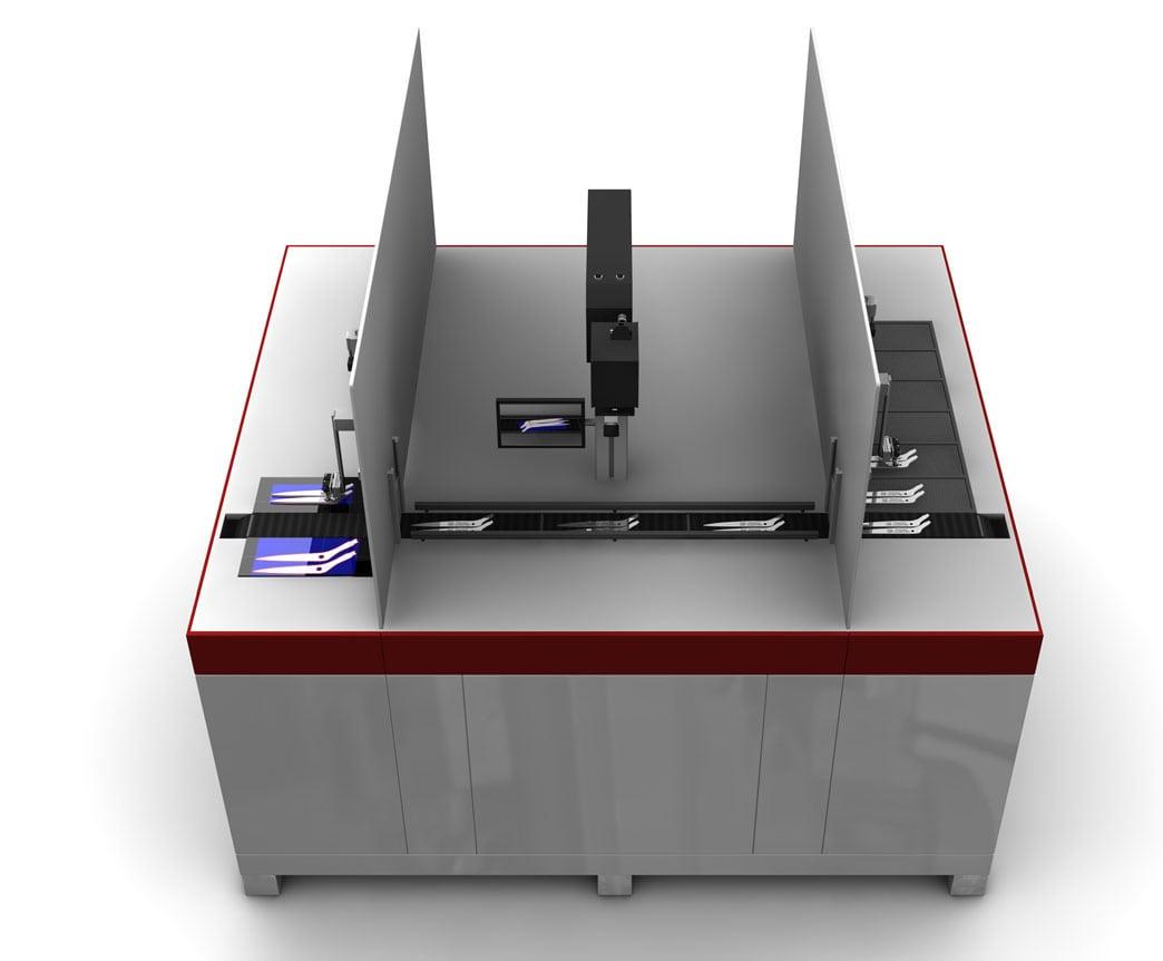 Formteile Laseranlage