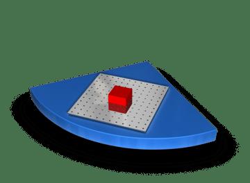 Funktionsmodul ausziehbarer Tisch