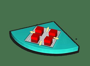 Funktionsmodul X/Y Tisch