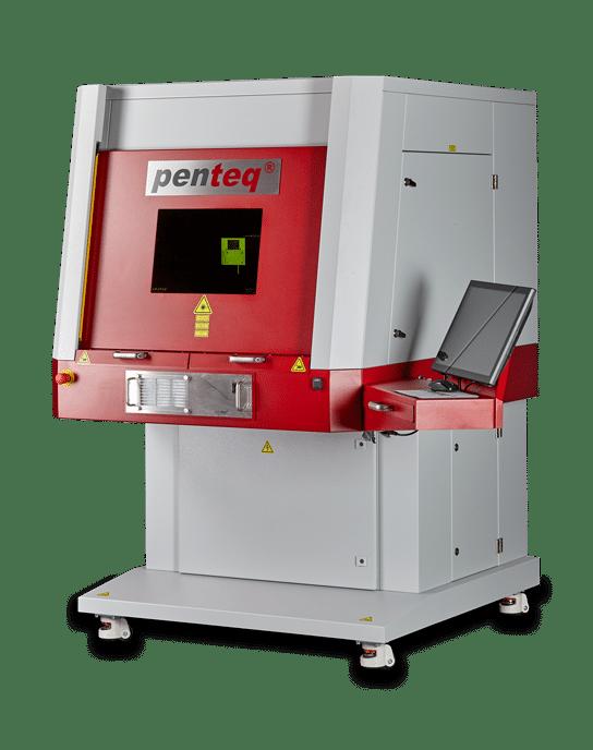 Ansicht der Lasergraviermaschine LG 300
