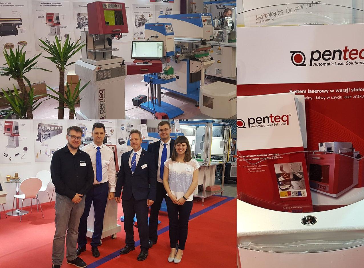 penteq auf der internationalen Messe für Kunststoff- und Gummiverarbeitung 2018